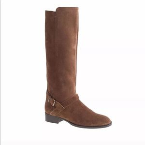 J. Crew Brown Lowell boots In Suede